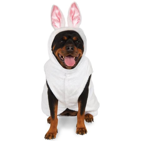 Monsters Inc Costumes For Dogs (Big Dogs Easter Bunny Rabbit Hoodie For Dog Pet)