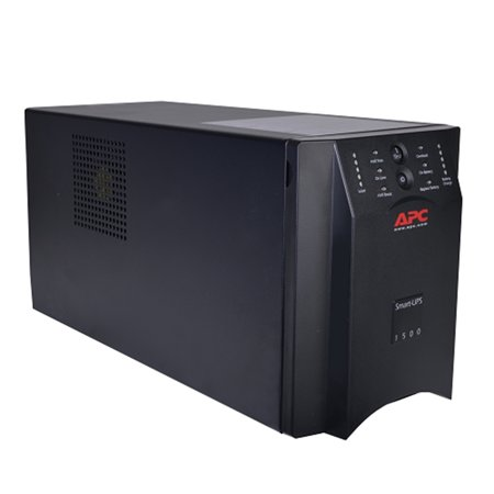 Refurbished APC Smart-UPS 1500VA 8-Outlet Uninterruptible Power Supply System with LAN