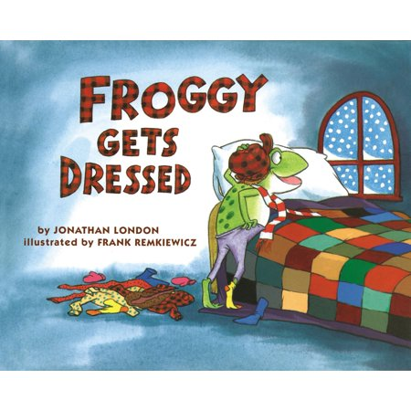 Froggy Gets Dressed Board Book (Board Book) - Dress Up Characters From Books