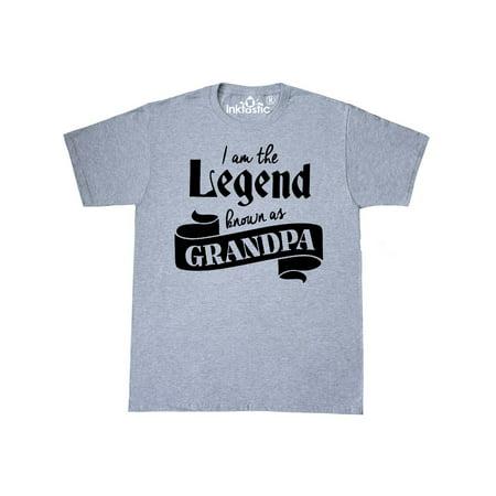 f3667433 Inktastic - Legend known as Grandpa T-Shirt - Walmart.com