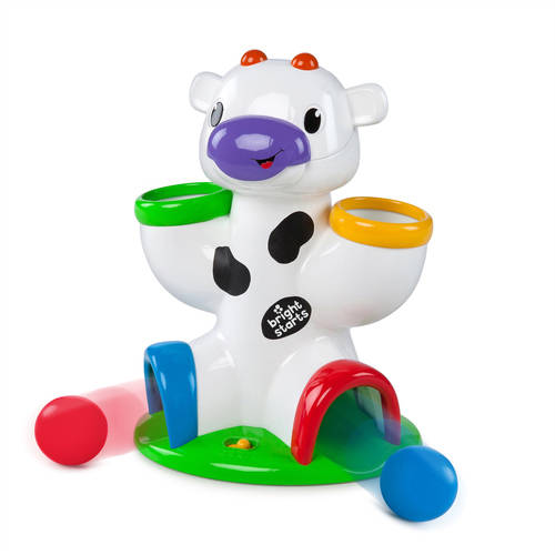 Bright Starts Drop & Giggle Cow by Bright Starts
