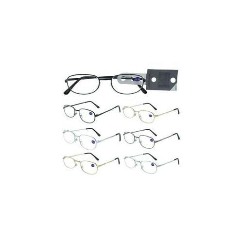 DDI 682888 2. 25 Power Metal Frame Reading Glasses Case Of 60