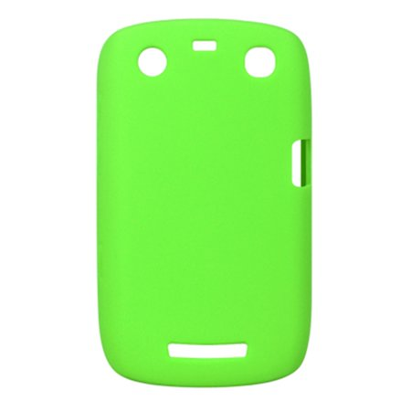 Insten SIlicone Skin Back Soft Rubber Gel Case Cover For BlackBerry Curve 9350 / 9360 - (Blackberry Curve Rubber Cases)