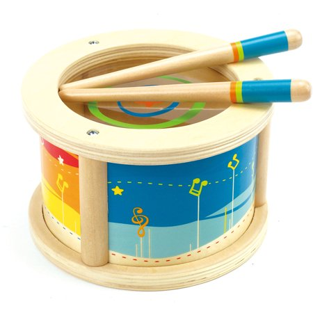 Spark. Create. Imagine. Wooden Drum