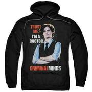 Criminal Minds Trust Me Mens Pullover Hoodie