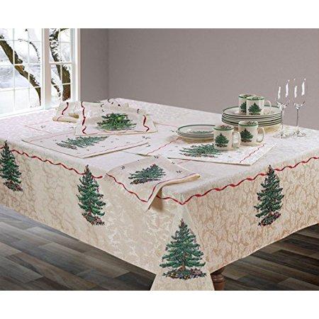 Spode Christmas Tree Candy (Spode Christmas Tree Fabric Tablecloth (60x144))