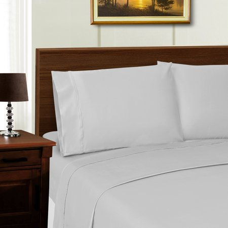 600 Thread Count Tencel Polyester Ultra Soft Bed Sheet Set 6 Colors