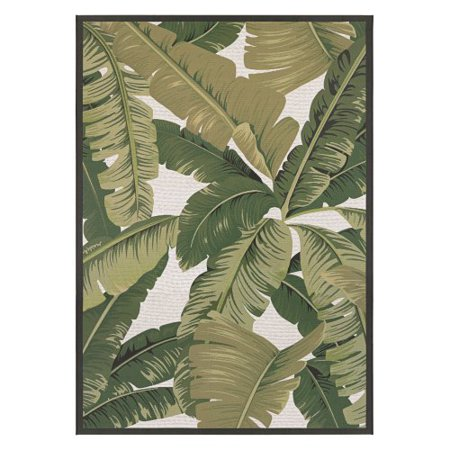 Couristan Dolce Palm Lily Indoor Outdoor Area Rug