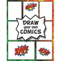 DRAW your own COMICS: Create your own Comics and Cartoons (Paperback)