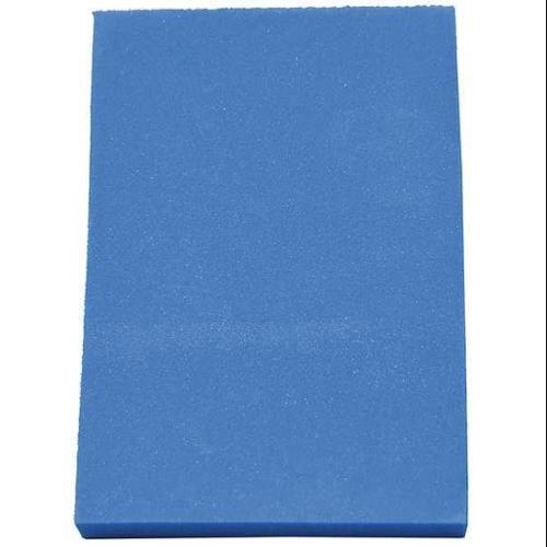 CLARK FOAM 1001339BLU Kitting Sheet,Polyethylene,Blue,1/2 in. G0471296