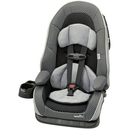 evenflo chase lx booster car seat grey. Black Bedroom Furniture Sets. Home Design Ideas