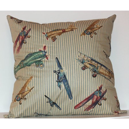 RLF Home Airshow Throw Pillow