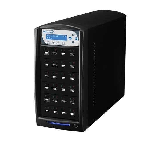 Vinpower Digital USBShark-23T-BK USBShark standalone USB Flash Pen Drive Copy Duplicator 23 Target