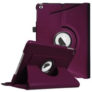 Fintie iPad 6th / 5th Gen, iPad Air /Air 2 360 Degree Rotating Stand Case Cover with Auto Sleep Wake, Purple