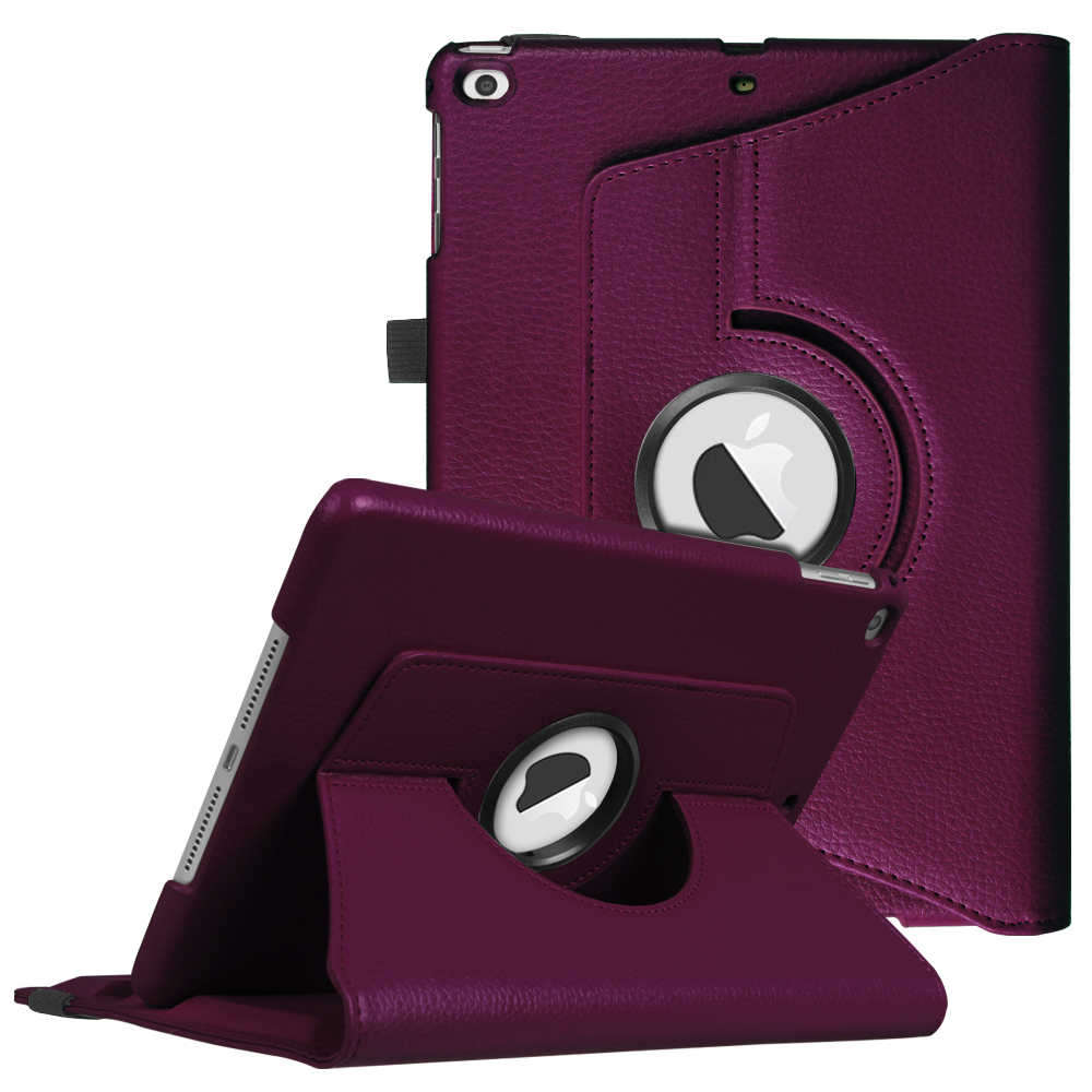 Fintie iPad 6th / 5th Gen, iPad Air /Air 2 Multiple Angles Stand Case Cover with Auto Sleep Wake, Purple