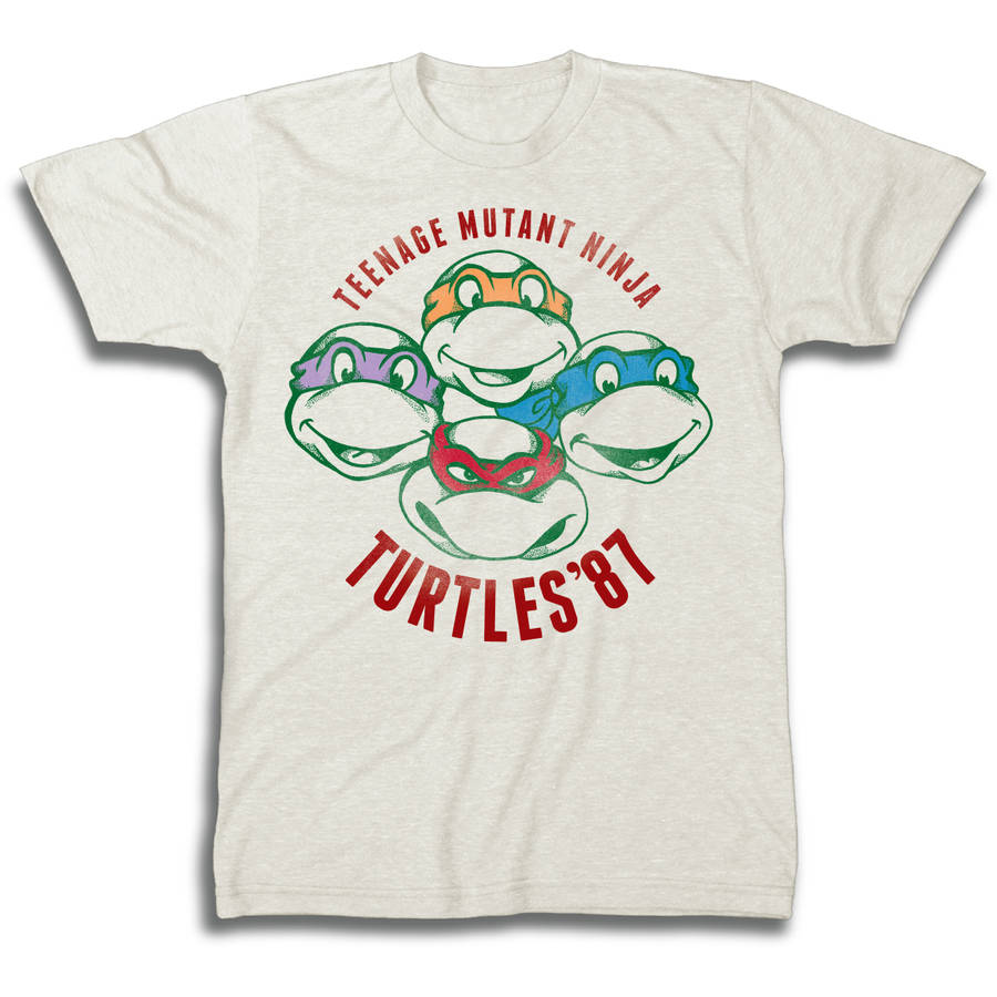 TMNT Turtles '87 Men's Short Sleeve T-shirt