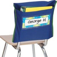 Store More® Deep-Pocket Chair Pockets - Navy - Set Of 36