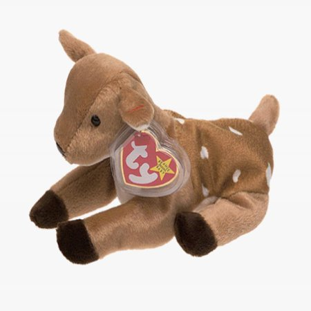 TY Beanie Baby - WHISPER the Deer
