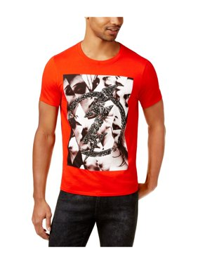 3280f474a265 Free shipping. Product Image GUESS Mens Bolt Graphic T-Shirt fieryred 2XL
