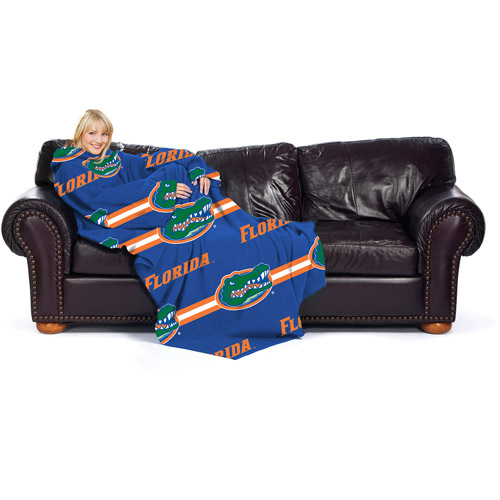 NCAA Florida Gators Comfy Throw, Stripes