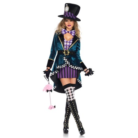 Leg Avenue Delightful Mad Hatter Adult Womens Costume - Mad Hatter Woman Costume