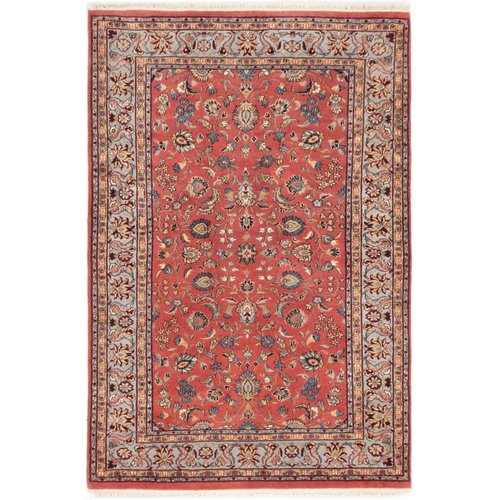 Isabelline One-of-a-Kind Doane Hand-Knotted 3'10'' x 6' Wool Dark Copper Area Rug