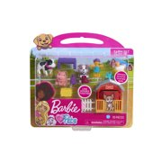 Barbie Pets 10-Piece Connectible Play Set - Farm Set