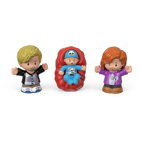 Little People Big Helpers Family Figurines - Light Hair - Halloween Little People