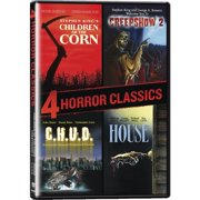 4 Horror Classics: Children Of The Corn   Creepshow 2   House   C.H.U.D. (Widescreen) by IMAGE ENTERTAINMENT INC