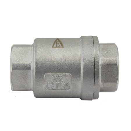 Low Pressure Check Valve (304 Stainless Steel Vertical Check Valve 1/2