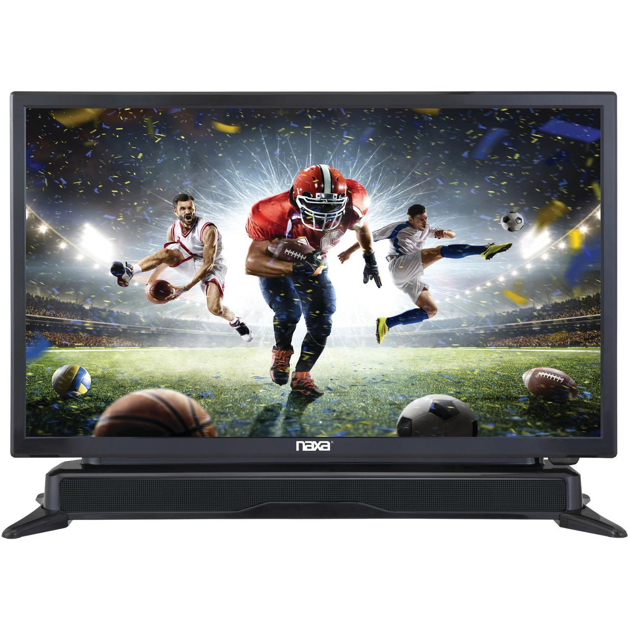 "NAXA Ntd-2460 24"" Class Led Tv With Dvd Player And Built-..."