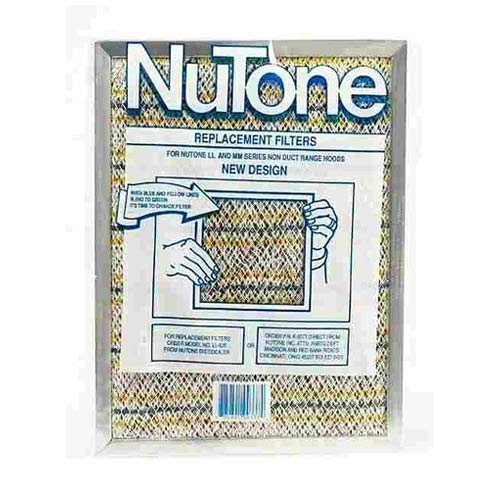 "Broan-Nutone LL62F Replacement Range Hood Filter , 11-1/4"" x 8-1/2"" x 3/8"""