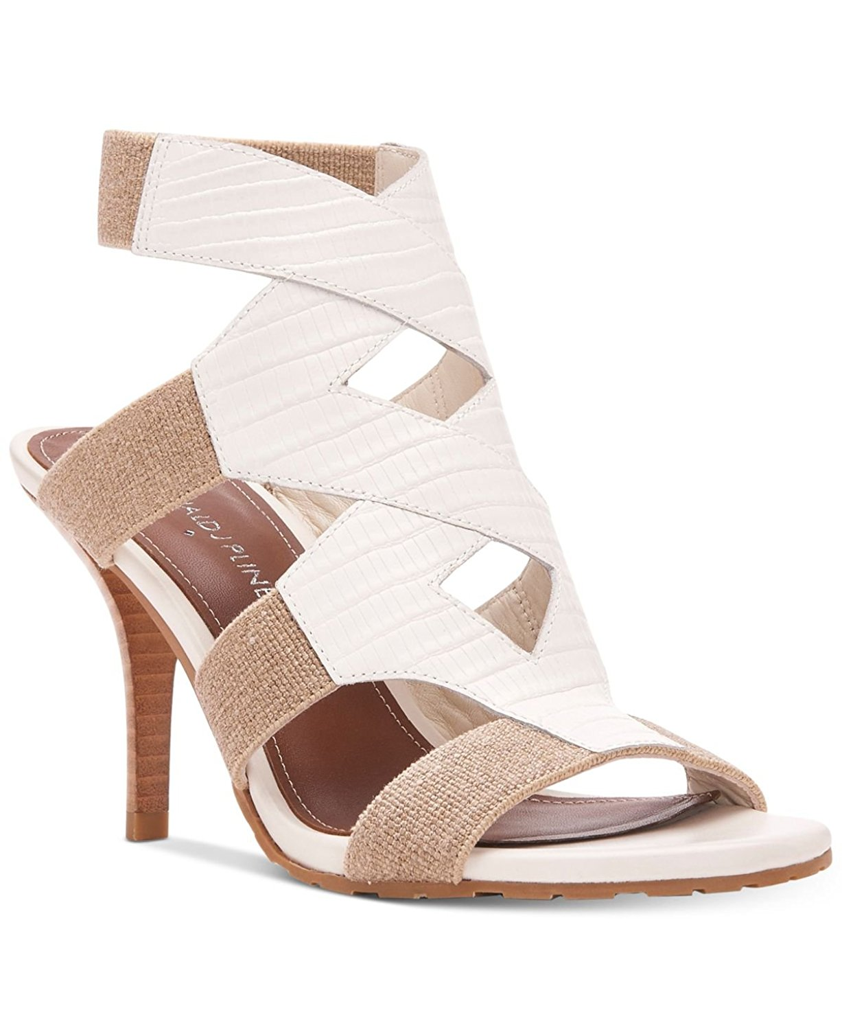 Donald J Pliner Womens Gwen Leather Open Toe Casual Strappy Sandals by Donald J Pliner