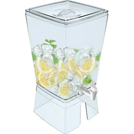 Basicwise Stackable Juice And Water Beverage Dispenser, 2.5 Gallon](Juice Dispenser)