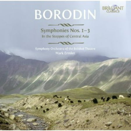 Symphonies Nos 1-3 / in Steppes of Central Asia (Best Of Asia Carrera)