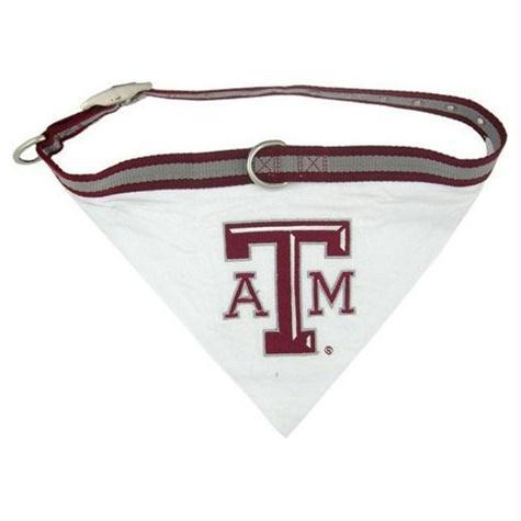 Texas A&M Dog Collar Bandana - Small