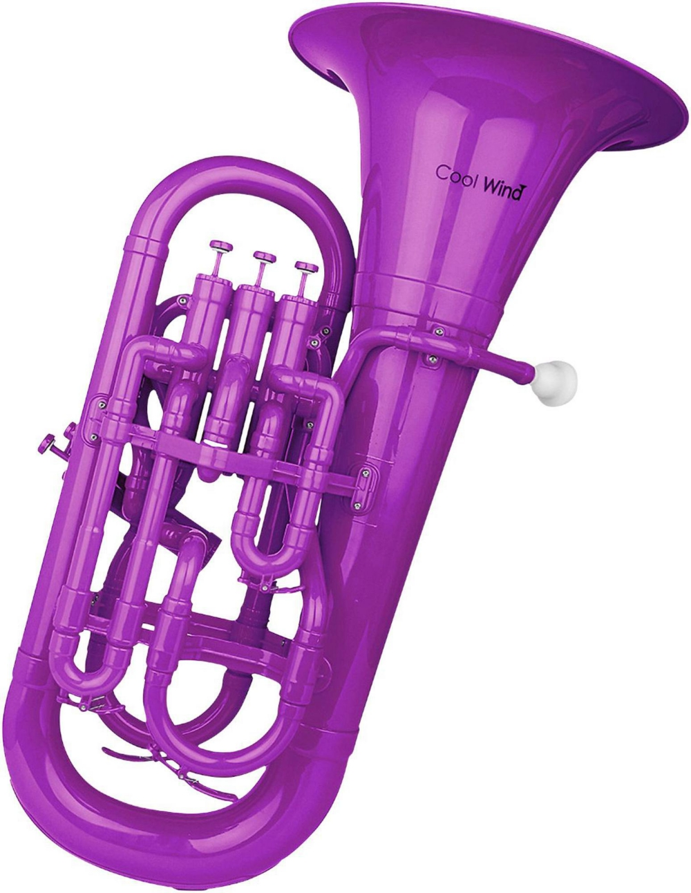 CEU-200 Series 4-Valve Plastic Euphonium by Cool Wind