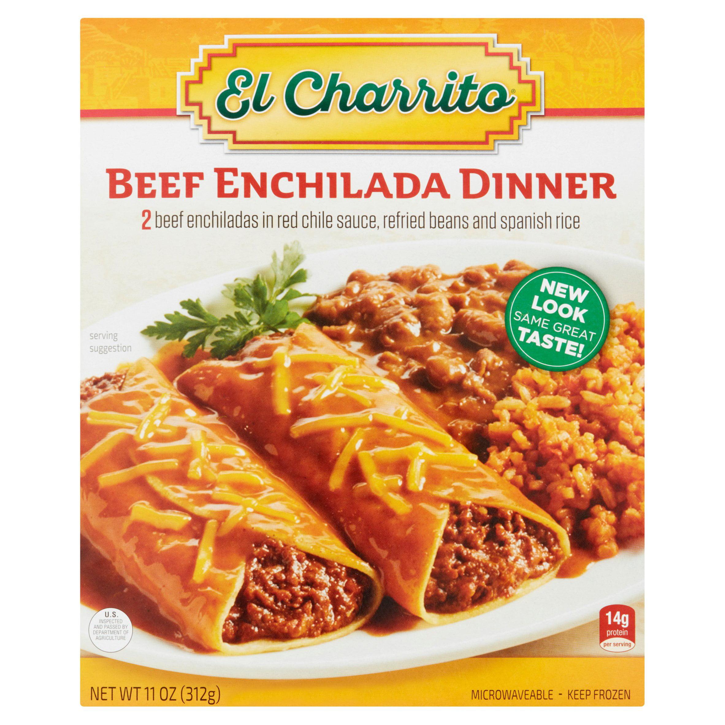 El Charrito™ Beef Enchilada Dinner 11 oz Box Walmart