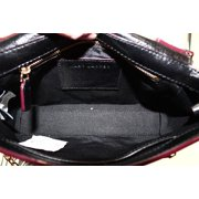 47af8276aa96 Marc Jacobs NEW Black Leather Tassel J Chain Shoulder Bag Purse Image 5 of 6