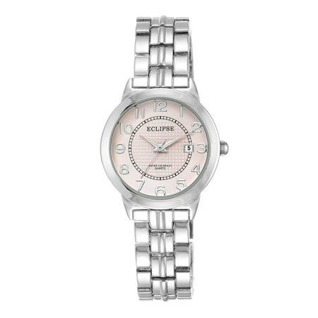 Women's Round Dress Watch, Pink