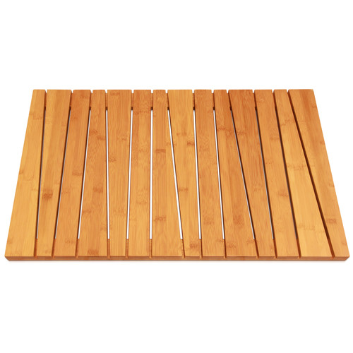Rebrilliant Bamboo Deluxe Shower Mat