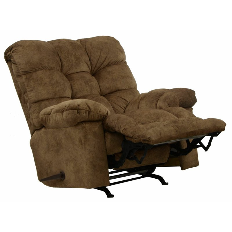 Catnapper Bronson Polyester Chaise Rocker Recliner by Catnapper