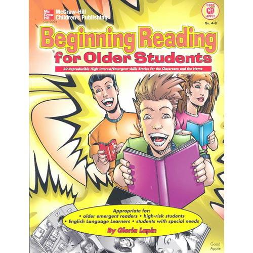 Beginning Reading for Older Students, Grades 4 - 8