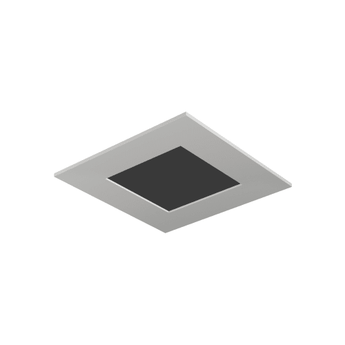 "Tech Lighting EN3SLF-O Entra 3"" Square Flangeless Flat Recessed Trim"