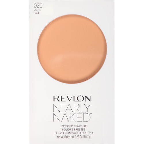 Revlon Nearly Naked Pressed Powder, 010 Fair, 0.28 oz