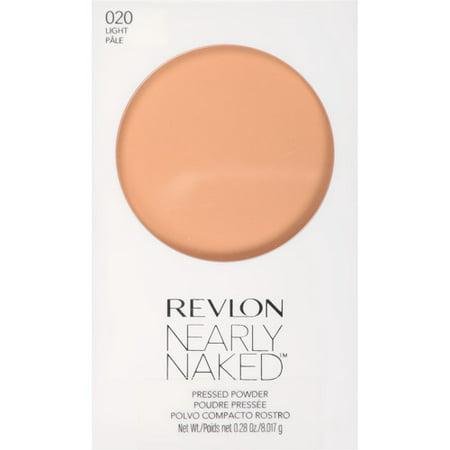 Revlon Nearly Naked Pressed Powder, Medium/Deep, 0.25 oz