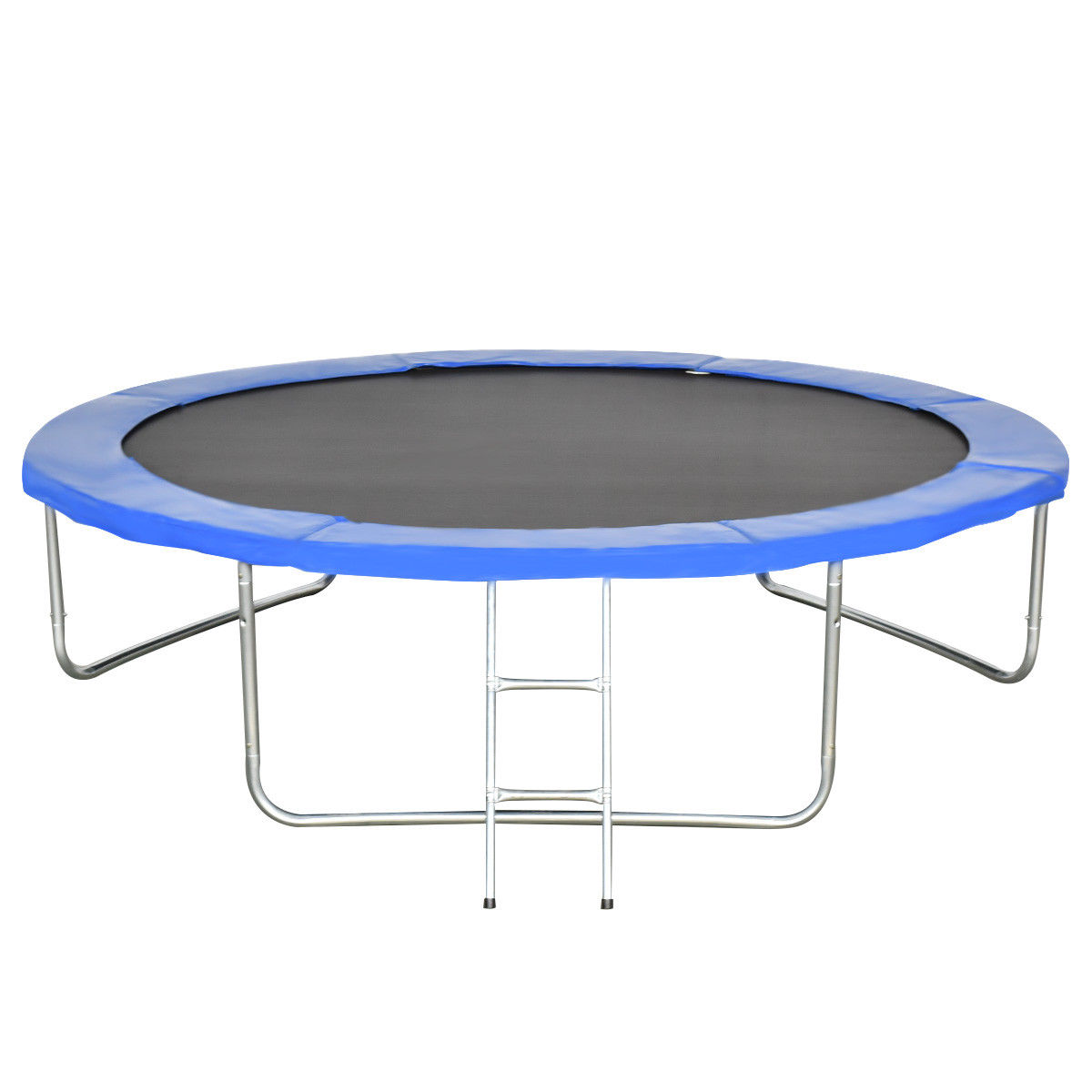 Gymax 10 FT Trampoline Combo Bounce Jump Safety Enclosure Net W/Spring Pad Ladder - image 6 of 10