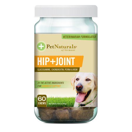 Pet Naturals of Vermont Hip and Joint Soft Chews for Dogs, 60