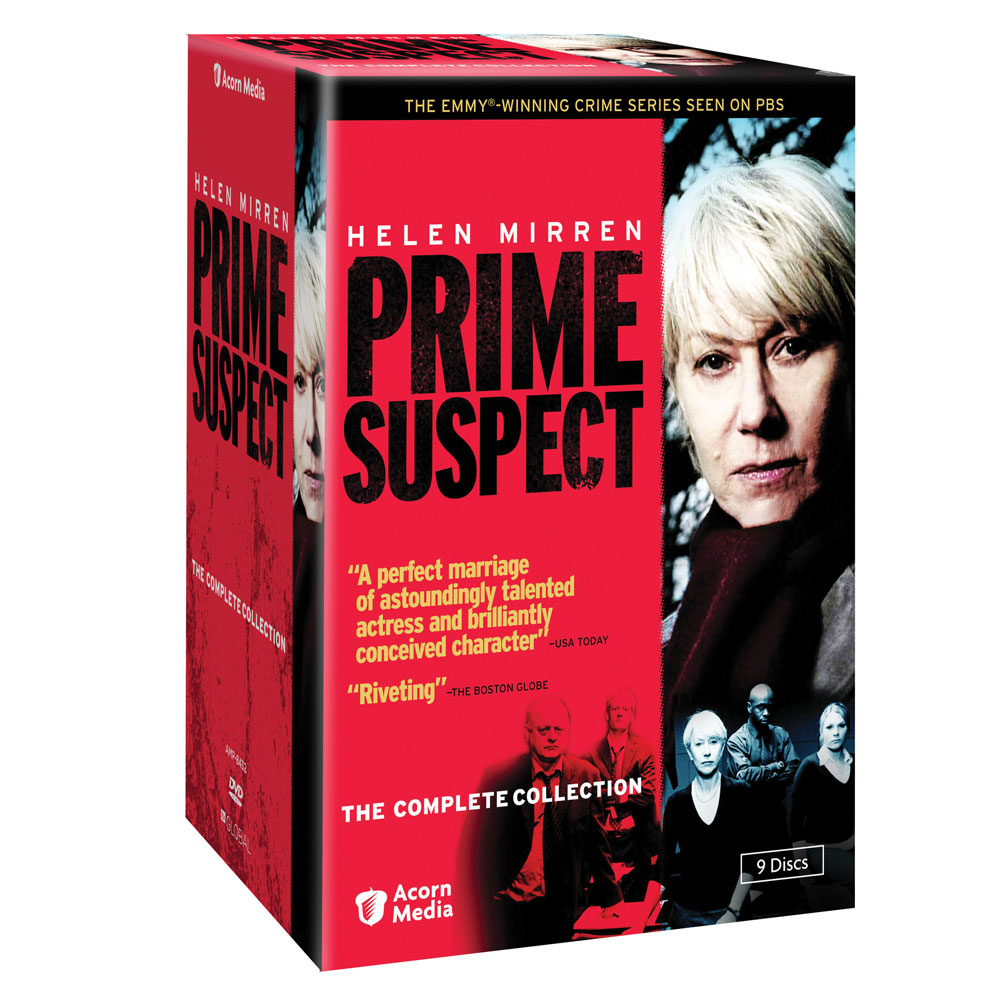 Prime Suspect: The Complete Collection DVDs - 9 Disc Set