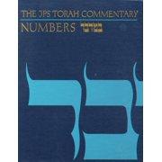 JPS Torah Commentary: The JPS Torah Commentary: Numbers (Hardcover)